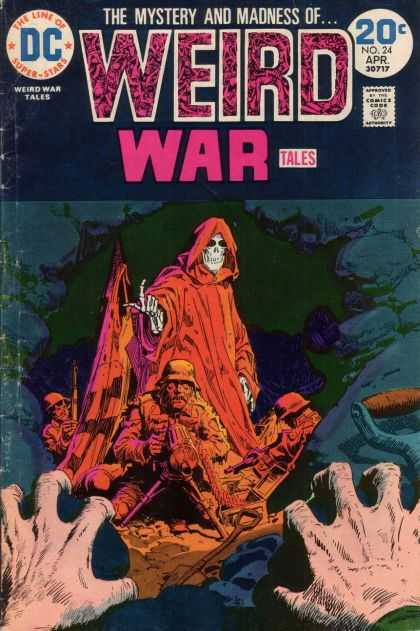 Weird War Tales 24