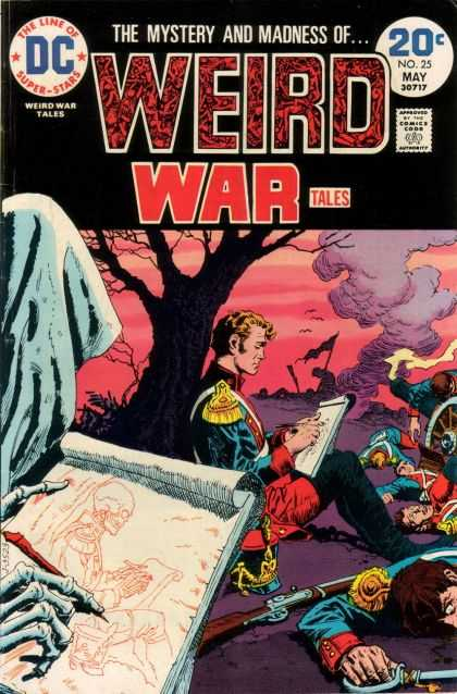 Weird War Tales 25 - Dc - The Line Of Superstars - Approved By The Comics Code Authority - Tree - No25 May