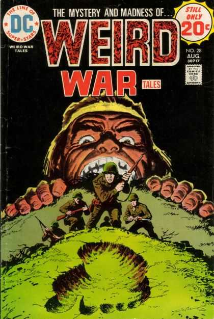 Weird War Tales 28