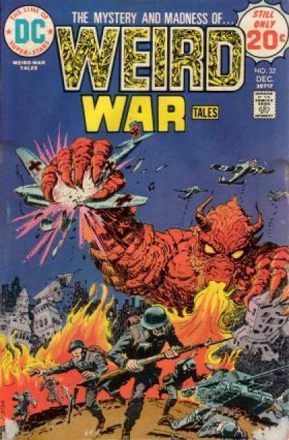 Weird War Tales 32
