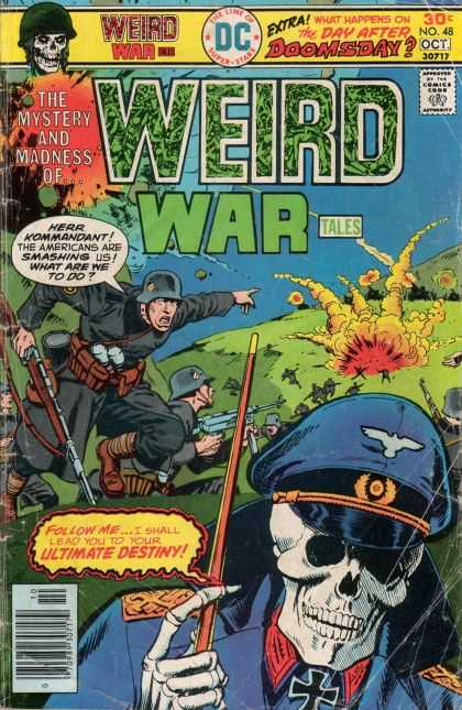 Weird War Tales 48