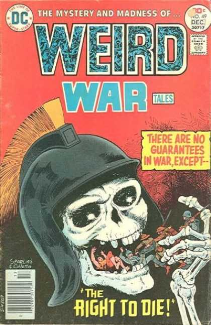 Weird War Tales 49