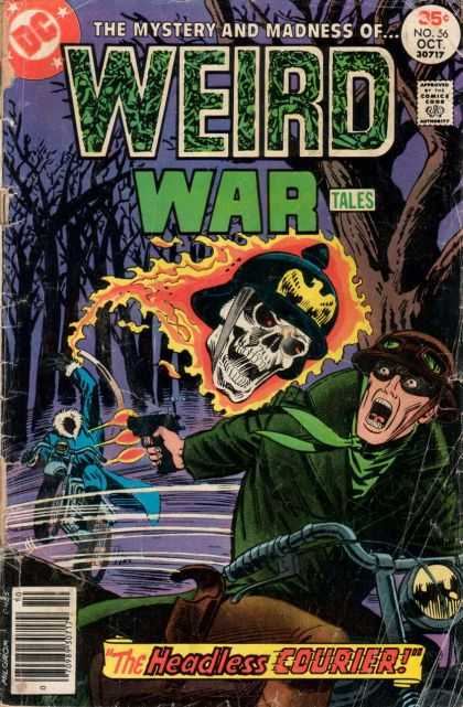 Weird War Tales 56