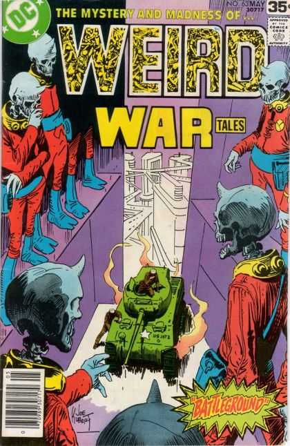 Weird War Tales 63
