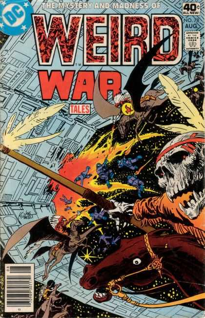 Weird War Tales 78