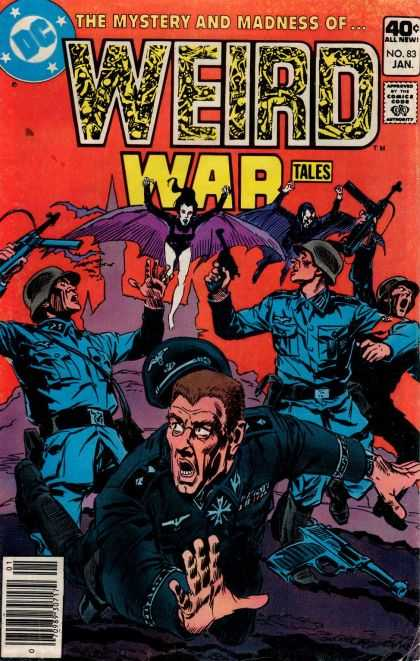 Weird War Tales 83 - Mystery And Madness - Batwoman - Army - Machine Guns - No 83