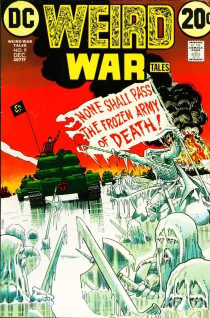 Weird War Tales 9
