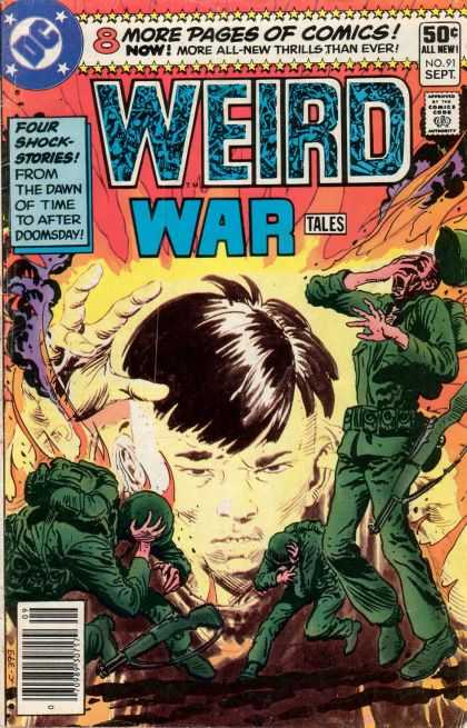 Weird War Tales 91 - Doomsday - Horror - Blast - Death - Scary - Joe Kubert