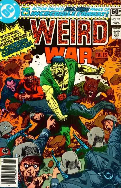 Weird War Tales 93 - Joe Kubert