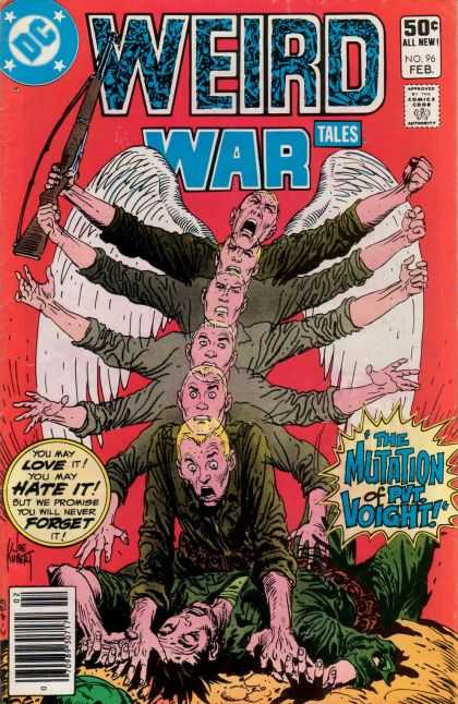 Weird War Tales 96 - Joe Kubert