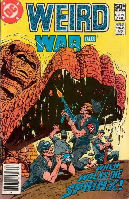 Weird War Tales 98