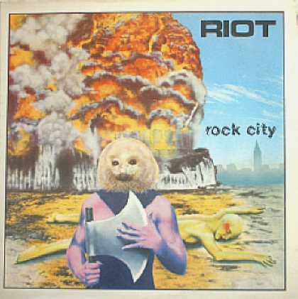 Weirdest Album Covers - Riot (Rock City)