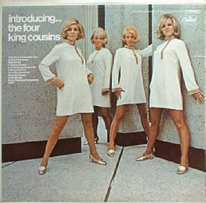 Weirdest Album Covers - 4 King Cousins (Introducing...)