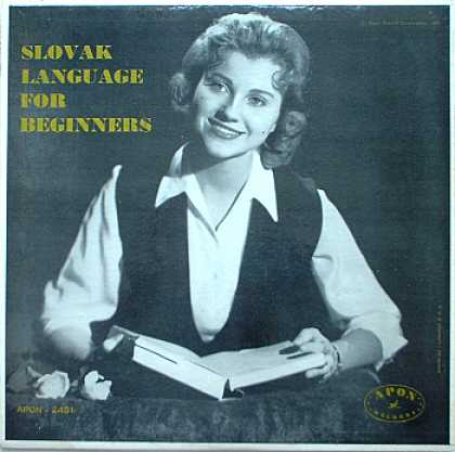 Weirdest Album Covers - Slovak Language For Beginners
