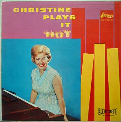 Weirdest Album Covers - Christine (Plays It Hot)
