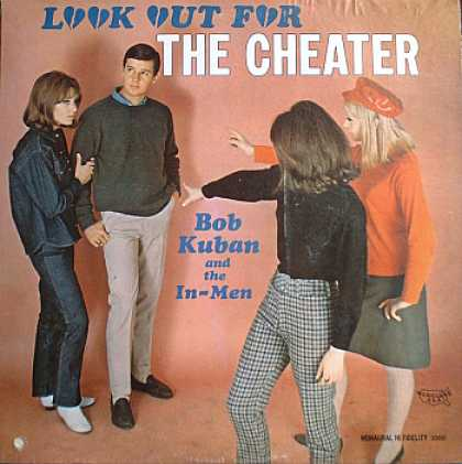 Weirdest Album Covers - Kuban, Bob & The In-Men (Look Out For The Cheater)