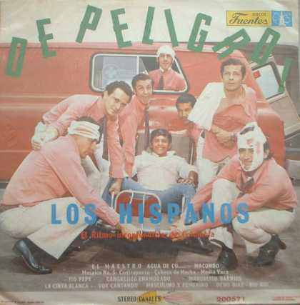 Weirdest Album Covers - Hispanos (De Peligro)