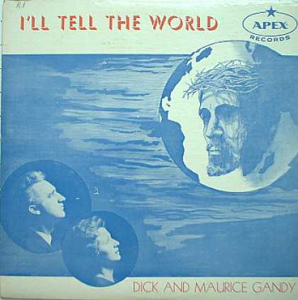 Weirdest Album Covers - Gandy, Dick & Maurice (I'll Tell The World)