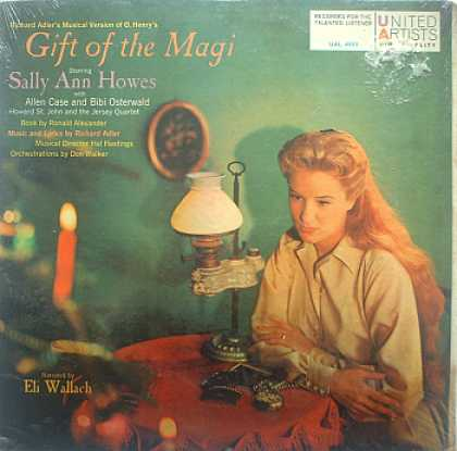 Weirdest Album Covers - Howes, Sally Ann (Gift Of The Magi)