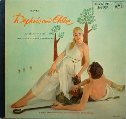 Weirdest Album Covers - Ravel, Maurice (Daphnis & Chloe) - 1