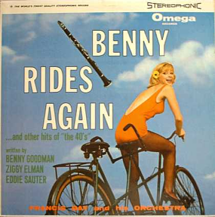 Weirdest Album Covers - Bay, Francis (Benny Rides Again)