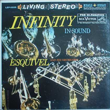 Weirdest Album Covers - Esquivel (Infinity In Sound)