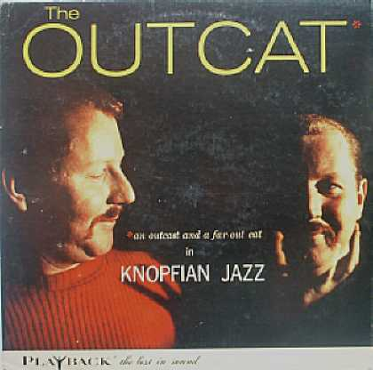 Weirdest Album Covers - Knopf, Paul Trio (The Outcat)