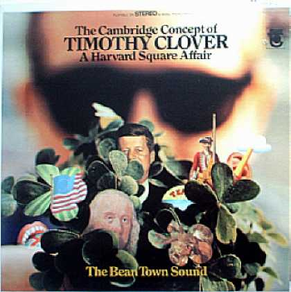 Weirdest Album Covers - Clover, Timothy (A Harvard Square Affair)