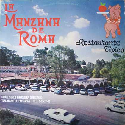 Weirdest Album Covers - Manzana De Roma (Restaurante Tipico)