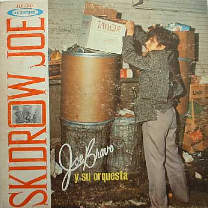 Weirdest Album Covers - Bravo, Joe (Skid Row Joe)