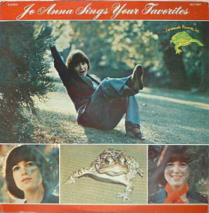 Weirdest Album Covers - Jo Anna (Sings Your Favorites)