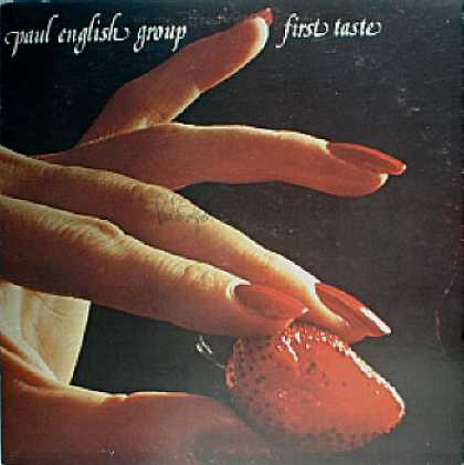 Weirdest Album Covers - English, Paul (First Taste)