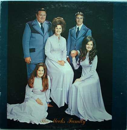 Weirdest Album Covers - Meeks Family (self-titled)