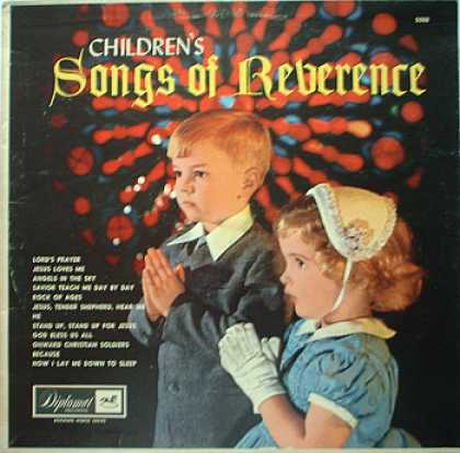 Weirdest Album Covers - Children's Songs Of Reverence