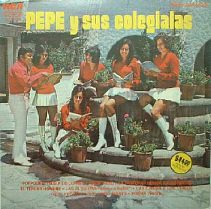 Weirdest Album Covers - Pepe y sus Colgialas (self-titled)