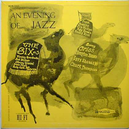 Weirdest Album Covers - Evening Of Jazz