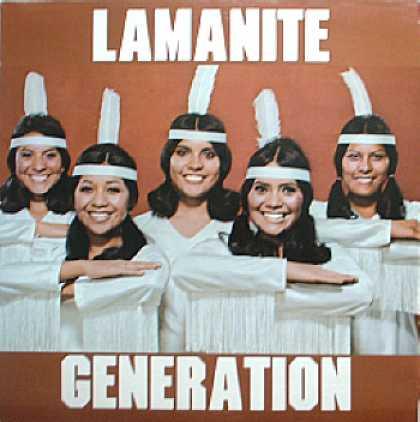 Weirdest Album Covers - Lamanite Generation (self-titled)
