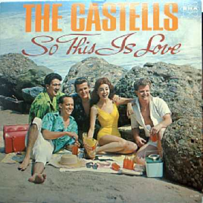 Weirdest Album Covers - Castells (So This Is Love)