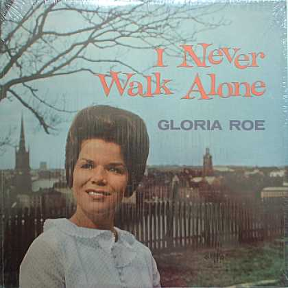 Weirdest Album Covers - Roe, Gloria (I Never Walk Alone)