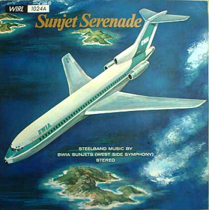 Weirdest Album Covers - BWIA Sunjets (Sunjet Serenade)