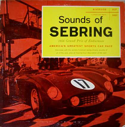Weirdest Album Covers - Sounds Of Sebring