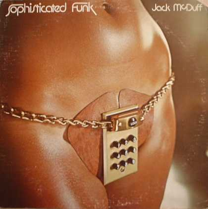 Weirdest Album Covers - McDuff, Jack (Sophisticated Funk)
