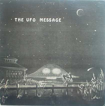 Weirdest Album Covers - Jima, Will (The UFO Message)