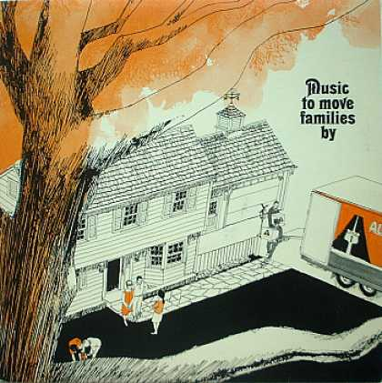 Weirdest Album Covers - Music To Move Families By