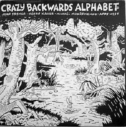 Weirdest Album Covers - Crazy Backwards Alphabet (self-titled)