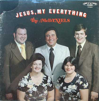 Weirdest Album Covers - McDaniels Family (Jesus, My Everything)