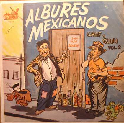 Weirdest Album Covers - Albures Mexicanos