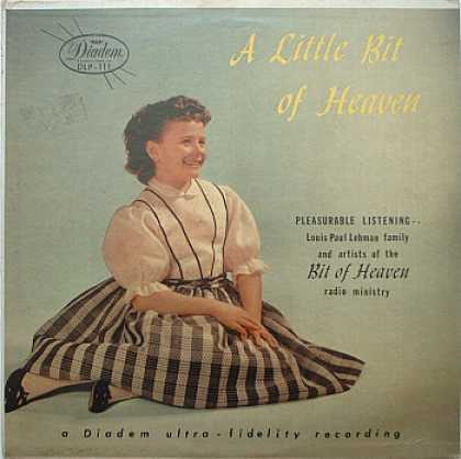 Weirdest Album Covers - Lehman, Louis Paul (A Little Bit Of Heaven)