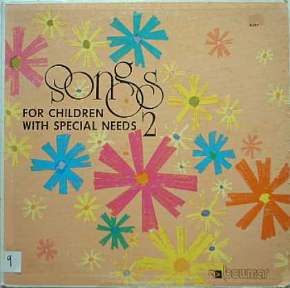 Weirdest Album Covers - Songs For Children With Special Needs 2