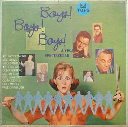 Weirdest Album Covers - Boys! Boys! Boys!